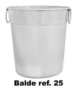 Balde de alumínio ref 25