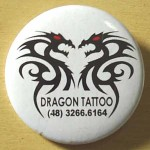 Botons Personalizados Dragon Tattoo
