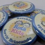 Botons personalizados rota kids