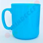 Caneca de Café Azul Claro
