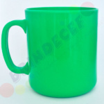 Caneca de Café Verde Claro