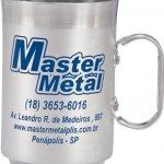 Canecas de alumínio 250 ml ref 27