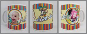 Canecas de porcelana personalizadas Eduardo