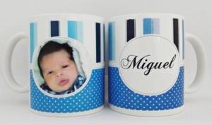 Canecas de porcelana personalizadas Miguel