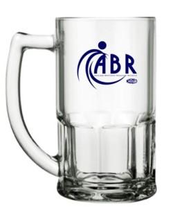 Canecas de vidro bristol 340 ml ABR