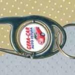 Chaveiros Personalizados Anzol com Giro Redondo