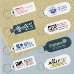 Chaveiros Personalizados PVC Redondos e Quadrados