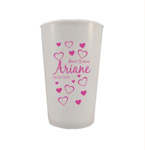 Copos de cerveja personalizados Ariane
