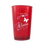 Copos de cerveja personalizados para aniversario Alana