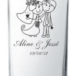 Copos de vidro liverpool 310 ml Aline e Jesse