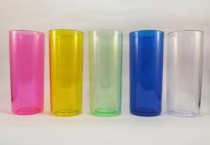 Copos para personalizar Rosa, Amarelo, Verde, Azul, Transparente