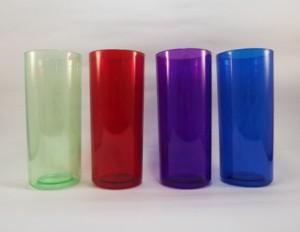 Copos para personalizar Verde, Vermelho, Violeta, Azul