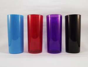 Copos para personalizar Azul, Vermelho, Violeta, Preto