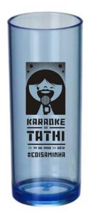 Copos Long Drink Personalizados Karaokê da Tathi