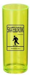 Copos Long Drink Personalizados Skate e Drink