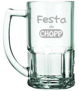 Canecas de Vidro Bristol Festa do Chopp