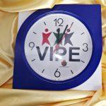 Relógios de parede personalizados flex Vipe