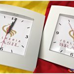 Relógios de parede personalizados Social branco Joalheira Brasil