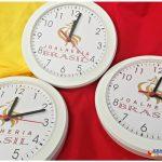 Relógios de parede personalizados redondo Joalheria