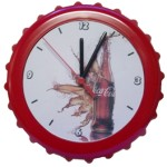 Relógios de parede tampa coca-cola