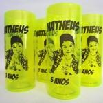 Copos long drink personalizados Mateus