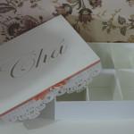 Caixa de chá personalizada