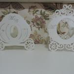 Carruagem decorativa para decoração