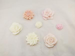 Flores artesanais para lembrancinha