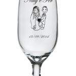 Taças de vidro floripa 300 ml Naty e Fer