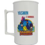 Canecas de acrilico personalizadas em transfer Yasmin 2 aninhos