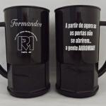 Canecas de acrílico 500 ml personalizadas Formatura Irene Resina