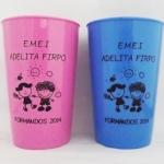 Copos caldereta personalizados Formandos 2014 EMEI Adelita