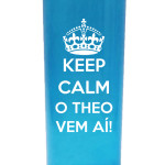 Copos long drink 280 ml personalizados Theo vem ai