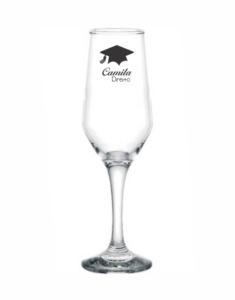 Taças de vidro bistrô champanhe 185ml Camila