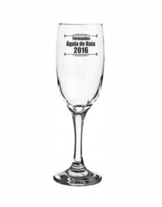 Taças de vidro para champanhe windsor 210ml Formandos Águia de Haia