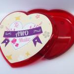 Bomboniere Coração Personalizada para Lmebrancinha