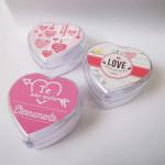 Mini bomboniere coração personalizada para lembrancinha