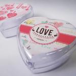 Mini bomboniere coração personalizada para Lembrança