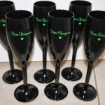 Taças de acrilico personalizadas Dom Perignon