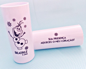 Copos Long Drink Personalizados Frozen