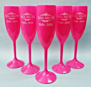 Taças de acrilico personalizadas Ana Brum