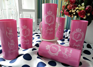 Copos long drink personalizados Jenifer