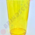 Copo Caldereta Amarelo Transparente