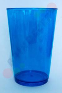 Copos para festas Caldereta Azul Transparente