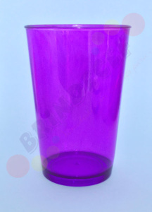 Copo Caldereta Violeta Transparente