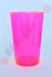Copo Caldereta Rosa Transparente
