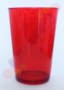Copo Caldereta Vermelho Transparente
