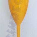 Taça de Acrílico Amarelo Opaco