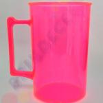 Rosa Neon Transparente