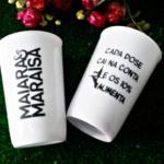 Copos caldereta personalizados Maiara e Maraisa